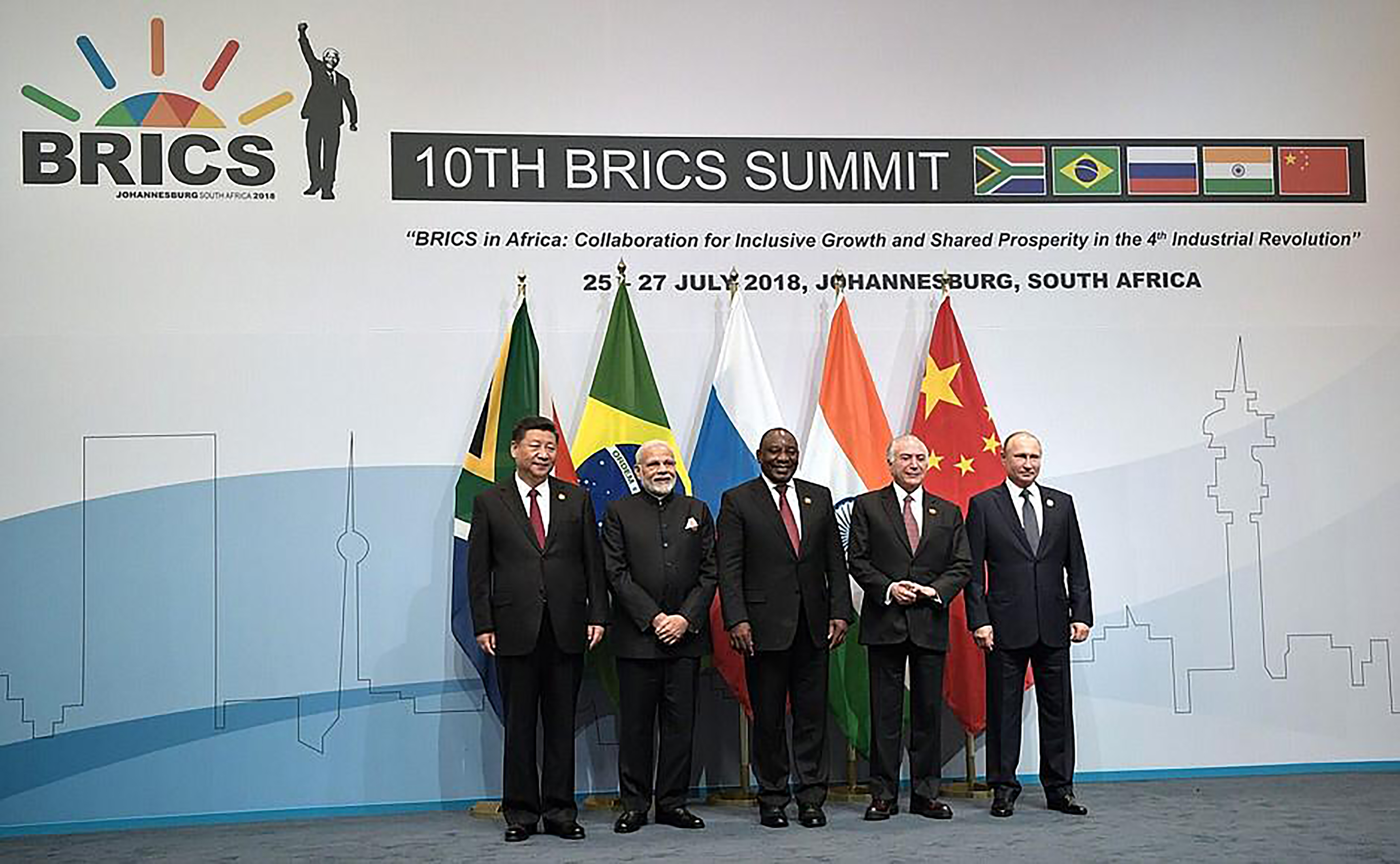 BRICS Presidents